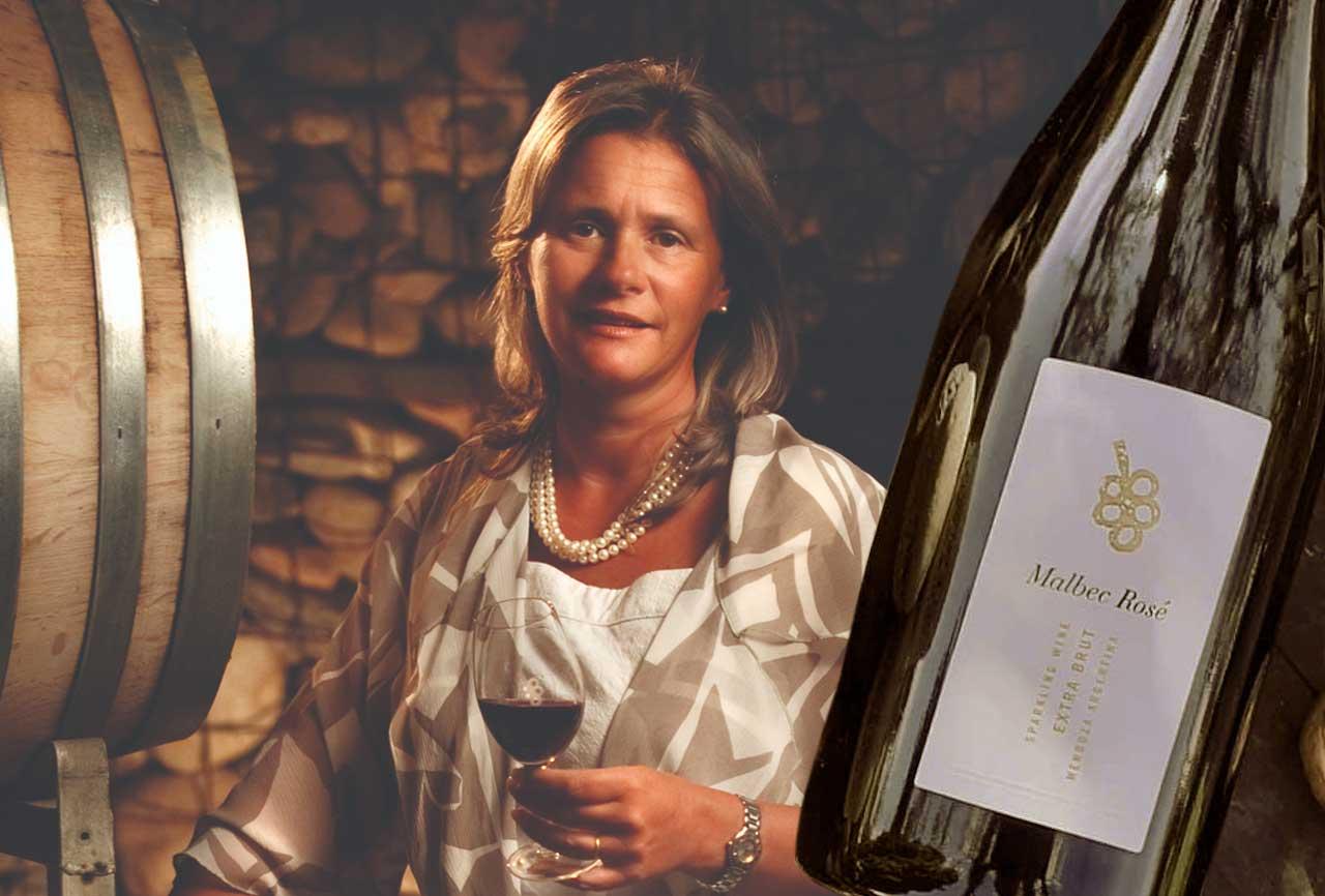 Patricia Ortiz es gerente general de Bodega Tapiz y preside la cámara Bodegas de Argentina. con su bodega apuesta a sus vinos añejados en el mar.