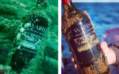 Bodega Tapiz apuesta a sus vinos añejados bajo el mar