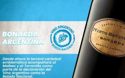 Oficialmente el vino Bonarda tendrá su semana como vino argentino del 2 al 8 de agosto