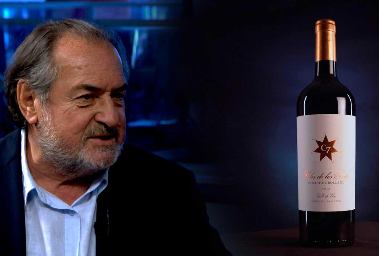 """Michel Rolland pasó nuevamente por Mendoza y comenzó a definir cómo serán sus vinos con """"Clos de los siete"""""""