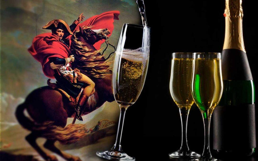 Waterloo y el champagne de Napoleón