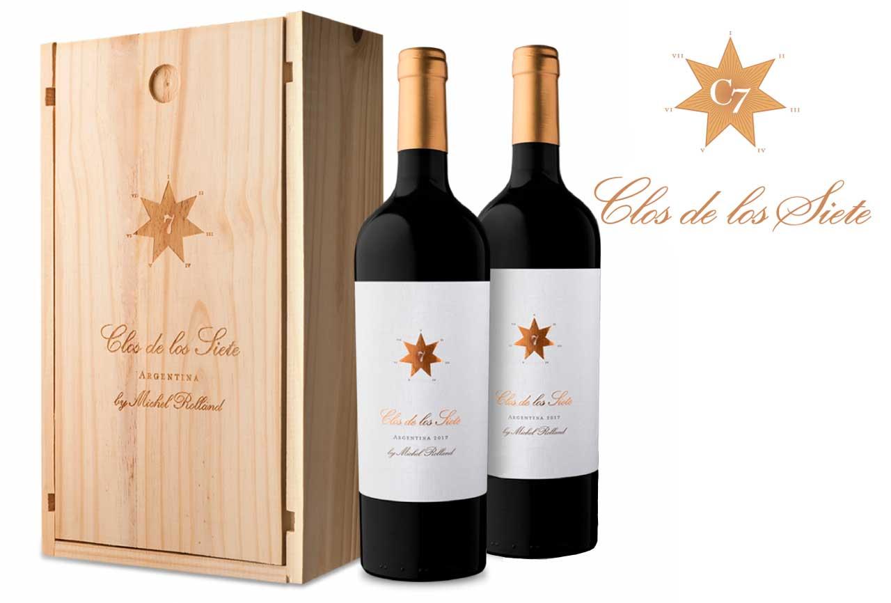 Michel Rolland creador de los vinos Clos de los Siete. Vinos de alta gama. Bodegas y etiquetas de vinos de Argentina Vinos.